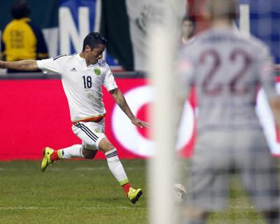 Soccer: Mexico Vs USA by Erich Schlegel