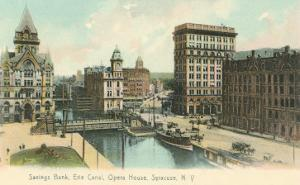 Erie Canal and Opera House, Syracuse, New York