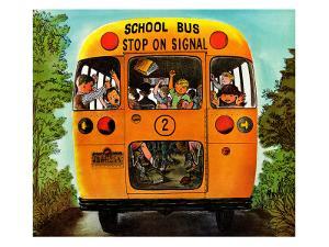 """School Bus,"" September 22, 1962 by Erik Blegvard"