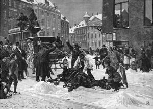 Cabhorse Collapses by Erik Henningsen