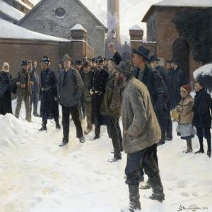 The Strike by Erik Ludvig Henningsen