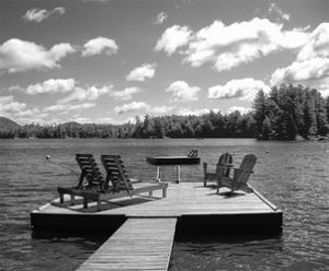 Adirondack Dock by Erik Richards