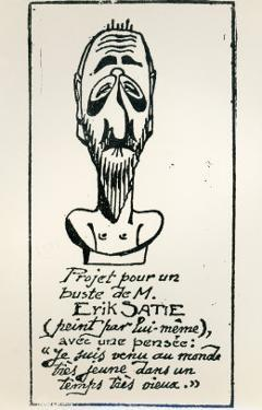 Self Portrait, Early 20th Century by Erik Satie