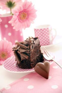 Chocolate Cake by Erika Craddock