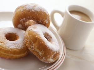 Coffee And Doughnuts by Erika Craddock