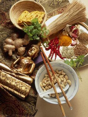 Ingredients for Cooking Thai Food by Erika Craddock