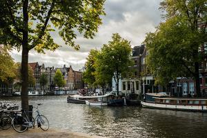 Amsterdam Canal III by Erin Berzel