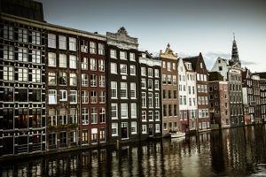 Amsterdam's Dancing Houses by Erin Berzel