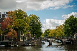 Autumn in Amsterdam by Erin Berzel