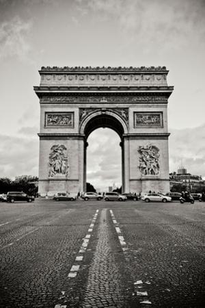 Ave Champs Elysees IV by Erin Berzel