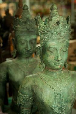 Buddha Statues II by Erin Berzel
