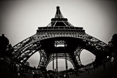 Eiffel Tower Fisheye by Erin Berzel