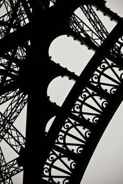 Eiffel Tower Latticework I by Erin Berzel
