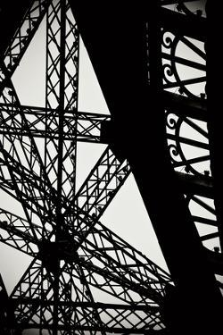 Eiffel Tower Latticework II by Erin Berzel