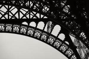 Eiffel Tower Latticework III by Erin Berzel
