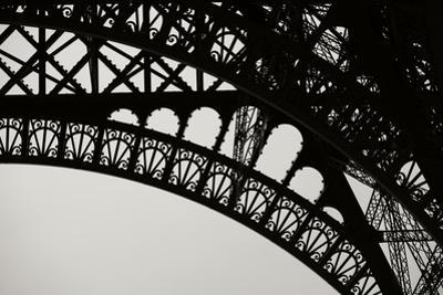Eiffel Tower Latticework III by Erin Berzel