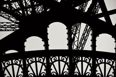 Eiffel Tower Latticework IV by Erin Berzel