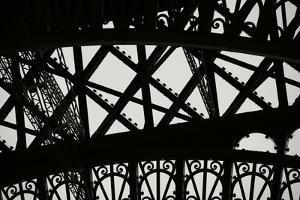 Eiffel Tower Latticework V by Erin Berzel