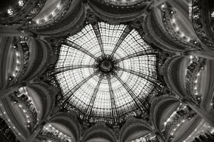 Galeries Lafayette IV BW by Erin Berzel