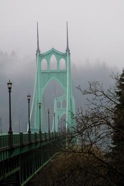 Light on the Bridge I by Erin Berzel