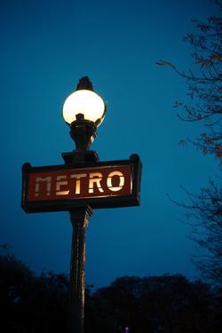 Paris Metro III by Erin Berzel