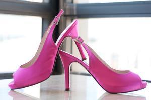 Pink Heels by Erin Berzel