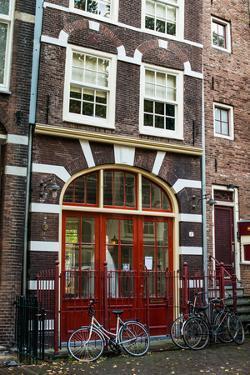 Red Door in Amsterdam by Erin Berzel