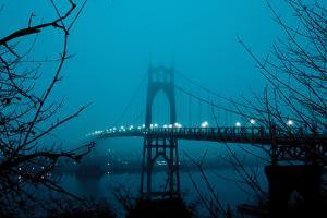 St. Johns Bridge II by Erin Berzel