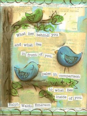 Birds Blue 2 by Erin Butson