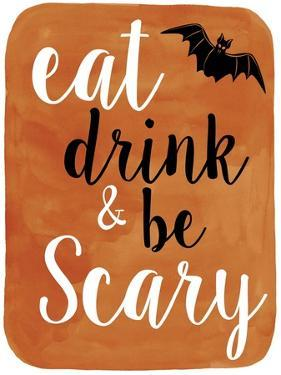 Be Scary by Erin Clark