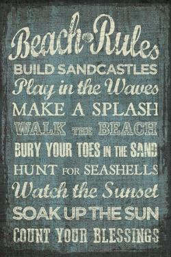 Beach Rules by Erin Clark