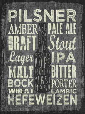 Beer Sign III by Erin Clark