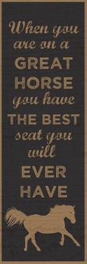 Best Seat by Erin Clark