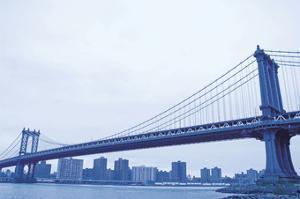 Blue Bridge by Erin Clark