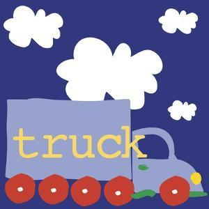 Blue Truck by Erin Clark