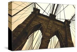 Brooklyn Bridge II (sepia) by Erin Clark