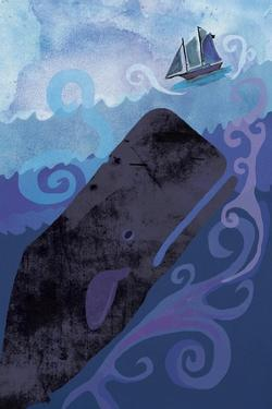 Clark Whale and Ship 5 by Erin Clark