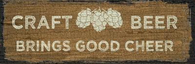Craft Beer Sign I by Erin Clark