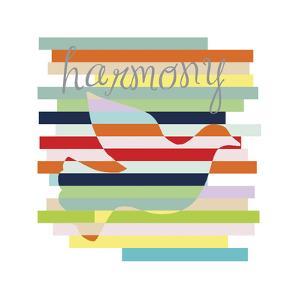 Dove Rainbow by Erin Clark