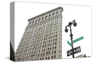 Flatiron Building with Lamp by Erin Clark