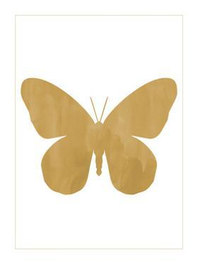 Gold Butterfly by Erin Clark