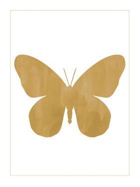 Gold Butterfly by Erin Clark
