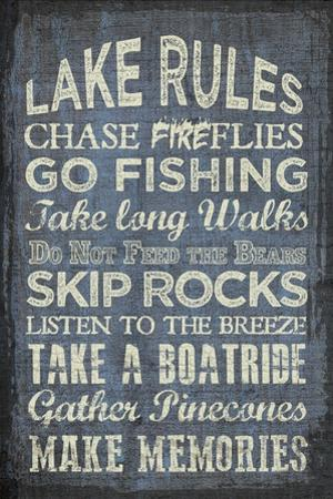 Lake Rules by Erin Clark