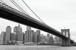 Manhattan from Brooklyn by Erin Clark