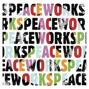Peace Works (white) by Erin Clark