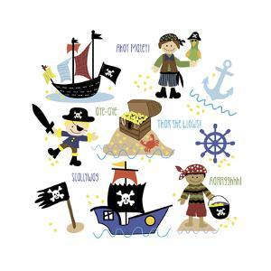 Pirates and Ships by Erin Clark