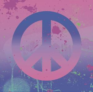 Psychedelic Peace by Erin Clark