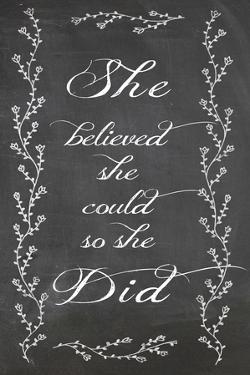 She Believed by Erin Clark