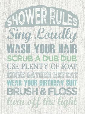 Shower Rules by Erin Clark
