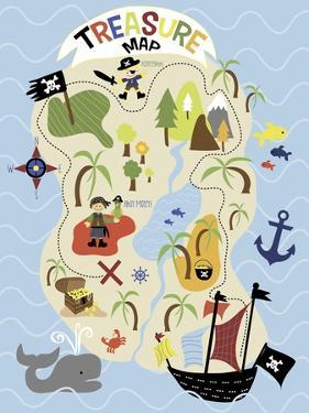 Treasure Map by Erin Clark